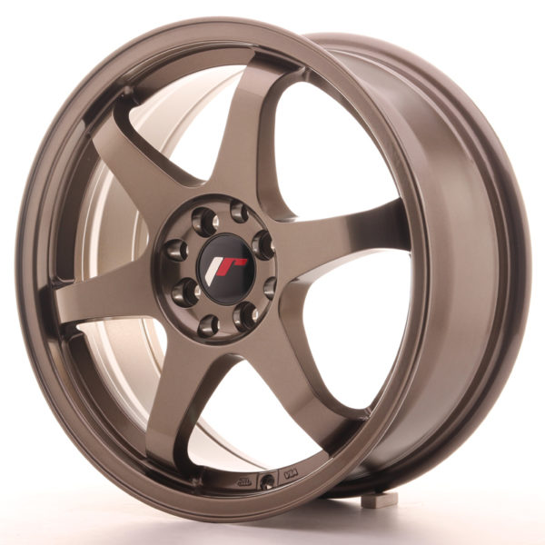 JR Wheels JR3 17x7 ET25 4x100/108 Bronze