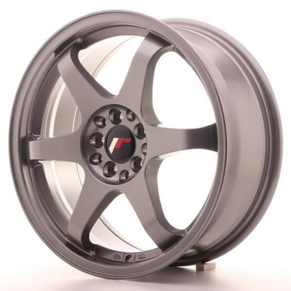 JR Wheels JR3 17x7 ET25 4x100/108 Gun Metal