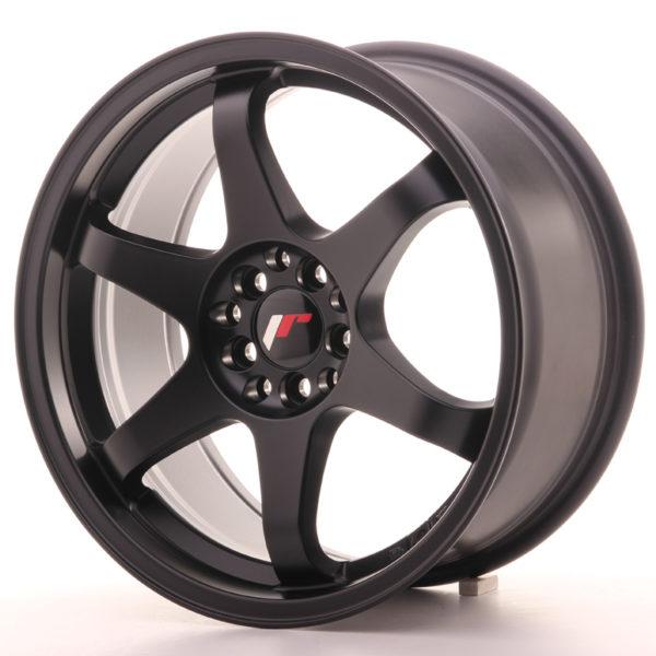 JR Wheels JR3 17x8 ET35 4x100/114 Matt Black