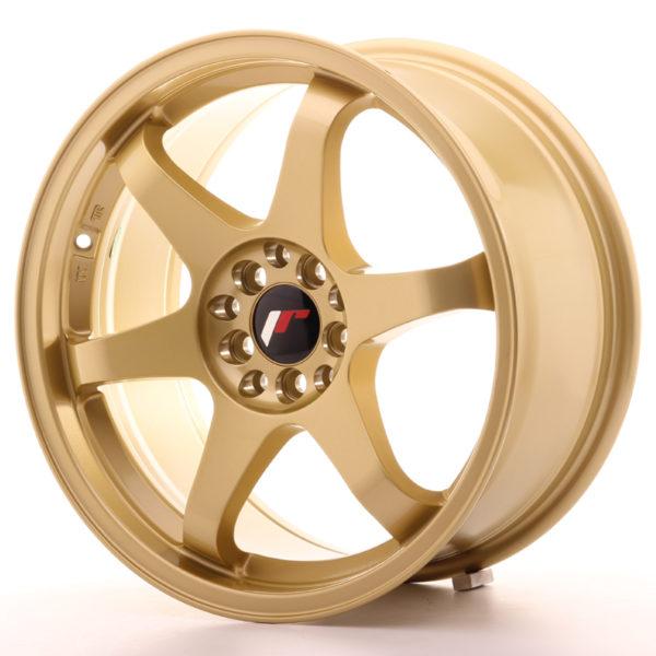 JR Wheels JR3 17x8 ET35 5x100/114 Gold