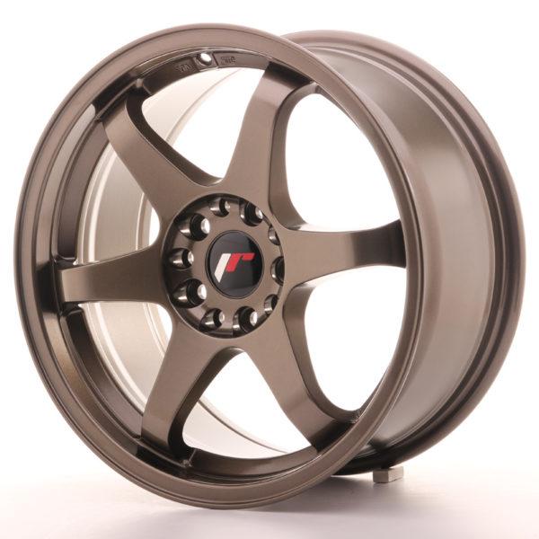 JR Wheels JR3 17x8 ET25 4x100/108 Bronze