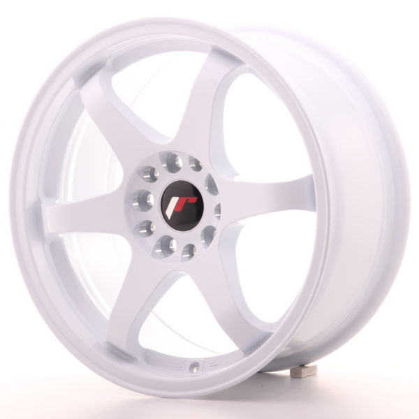 JR Wheels JR3 17x8 ET25 4x100/108 White
