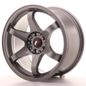 JR Wheels JR3 17x9 ET20 5x100/114 Gun Metal