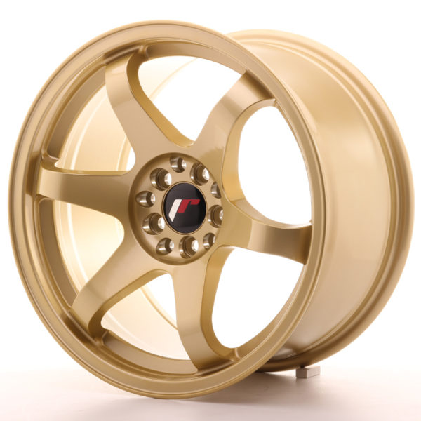 JR Wheels JR3 17x9 ET35 5x100/114 Gold