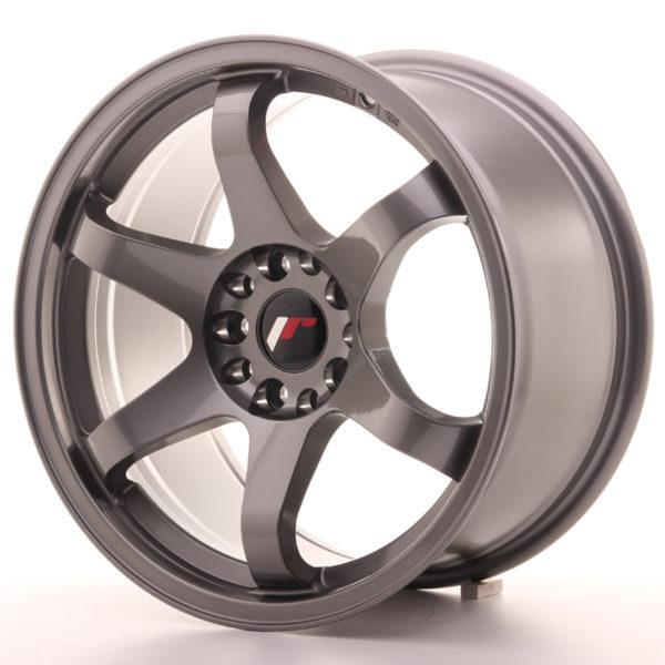 JR Wheels JR3 17x9 ET35 5x100/114 Gun Metal