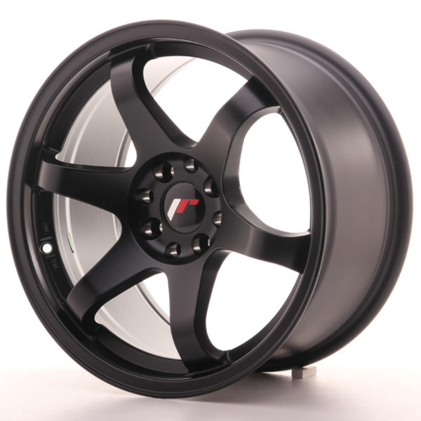 JR Wheels JR3 17x9 ET25 4x108/114 Matt Black