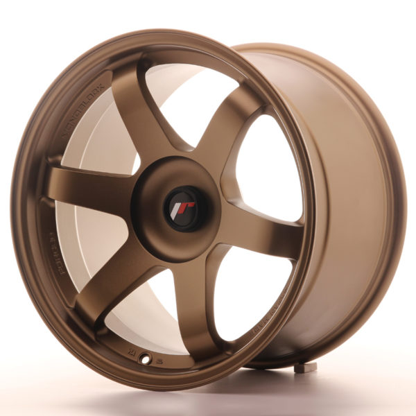 JR Wheels JR3 18x10,5 ET25-30 BLANK Dark Anodized Bronze