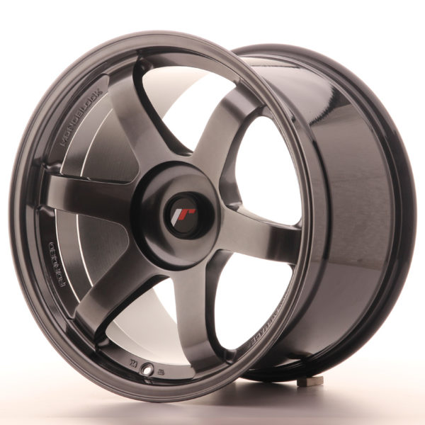 JR Wheels JR3 18x10,5 ET25-30 BLANK Hyper Black