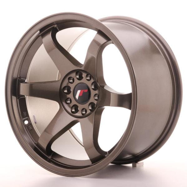 JR Wheels JR3 18x10 ET25 5x114,3/120 Bronze