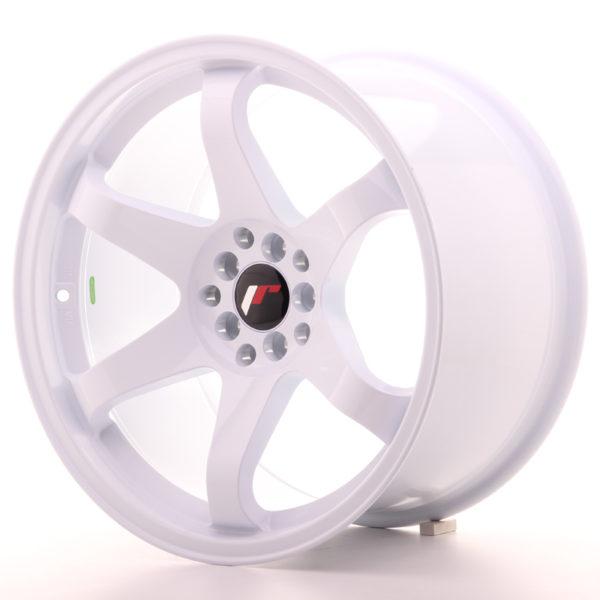 JR Wheels JR3 18x10 ET25 5x114,3/120 White