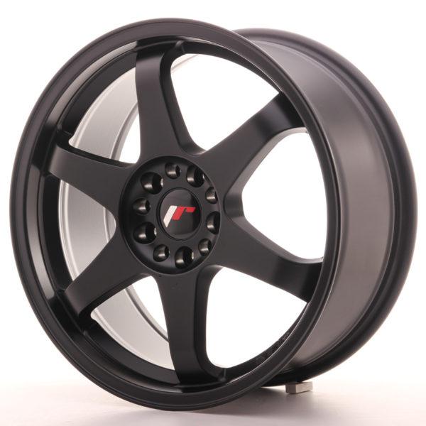 JR Wheels JR3 18x8 ET40 5x112/114 Matt Black