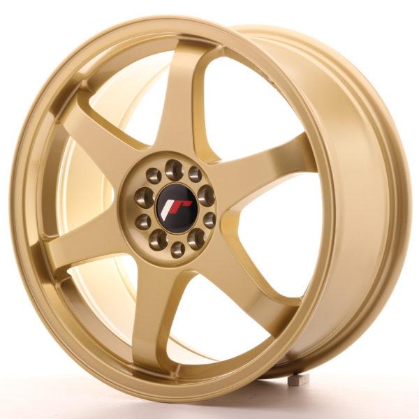 JR Wheels JR3 18x8 ET40 5x100/108 Gold