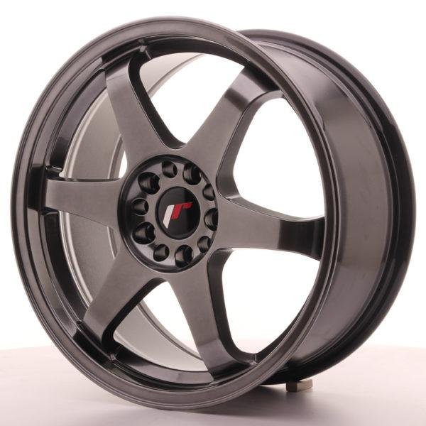 JR Wheels JR3 18x8 ET35 5x100/120 Dark Hyper Black