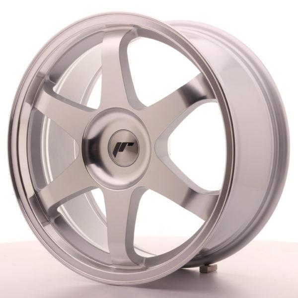 JR Wheels JR3 18x8 ET35-45 BLANK Silver Machined Face