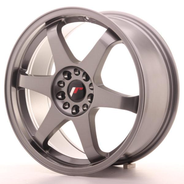 JR Wheels JR3 18x8 ET30 5x114/120 Gun Metal