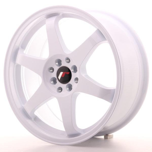 JR Wheels JR3 18x8 ET30 5x114/120 White