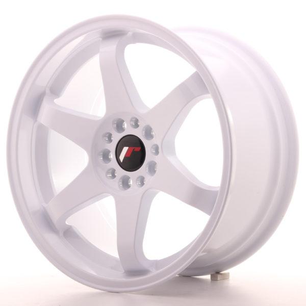 JR Wheels JR3 18x9 ET35 5x114/120 White