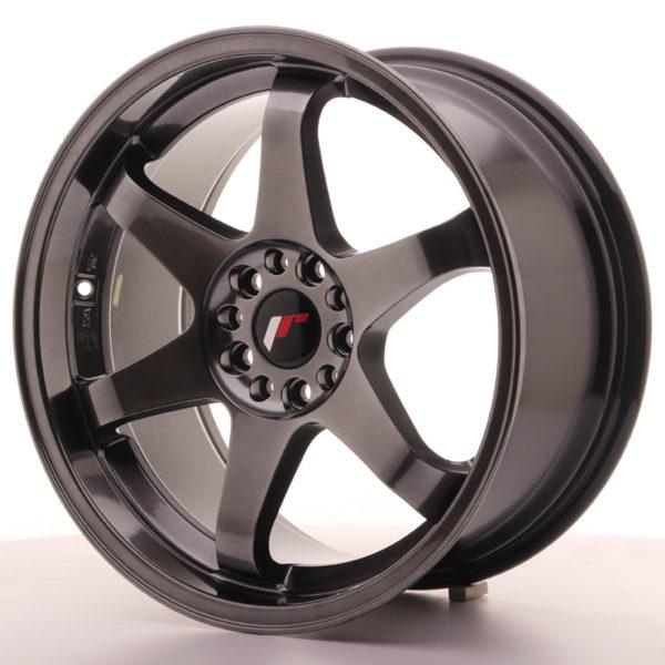 JR Wheels JR3 18x9 ET40 5x112/114 Dark Hyper Black