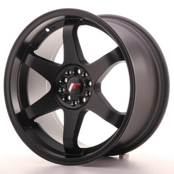 JR Wheels JR3 18x9 ET40 5x100/108 Matt Black