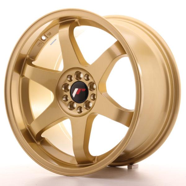 JR Wheels JR3 18x9 ET40 5x100/108 Gold