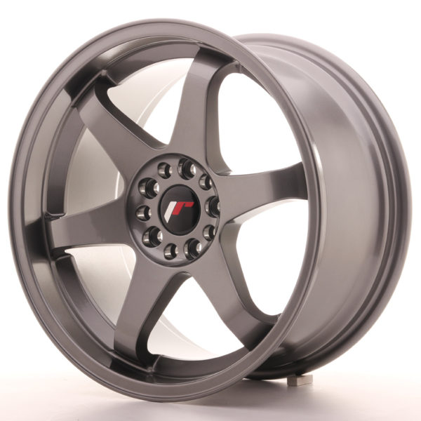 JR Wheels JR3 18x9 ET40 5x100/108 Gun Metal