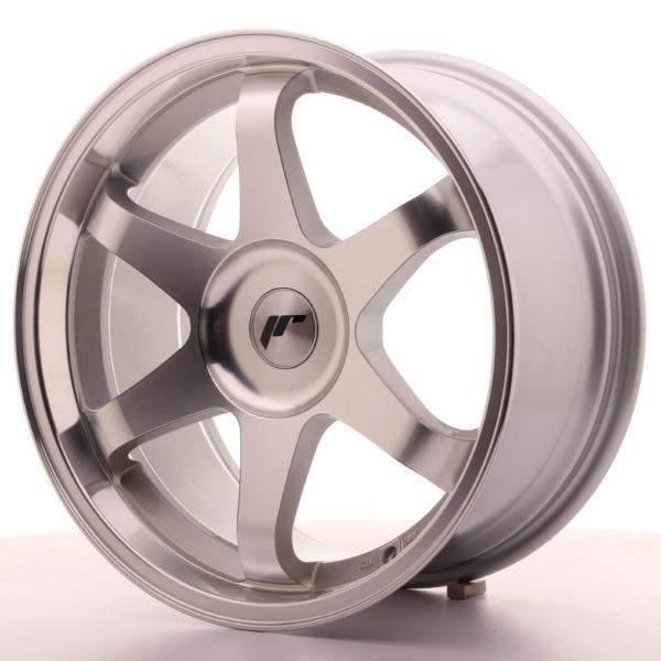 JR Wheels JR3 18x9 ET35-40 BLANK Silver Machined Face