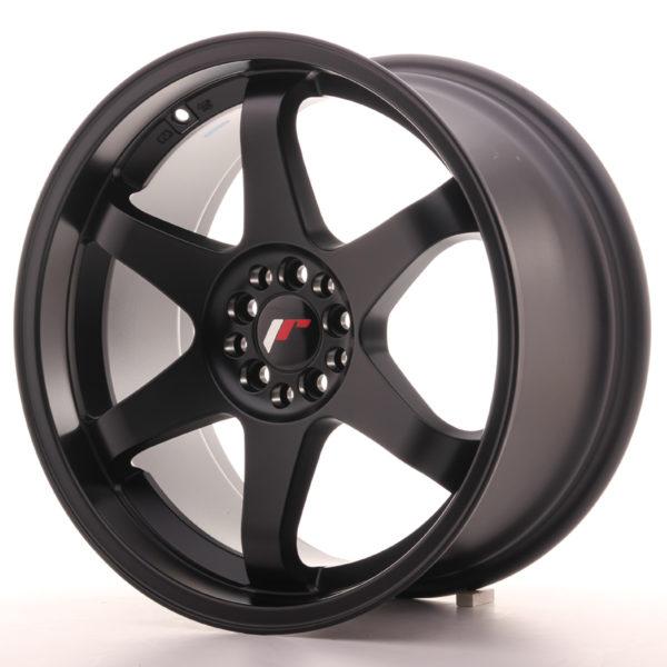 JR Wheels JR3 18x9 ET15 5x114/120 Matt Black