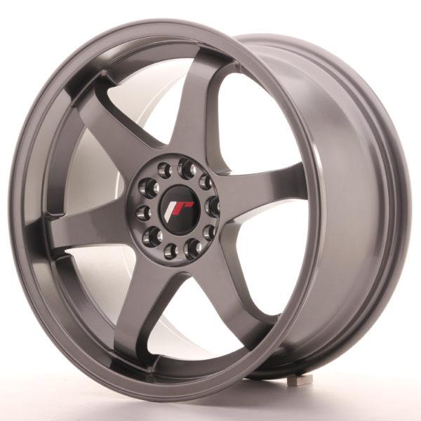 JR Wheels JR3 18x9 ET15 5x114/120 Gun Metal