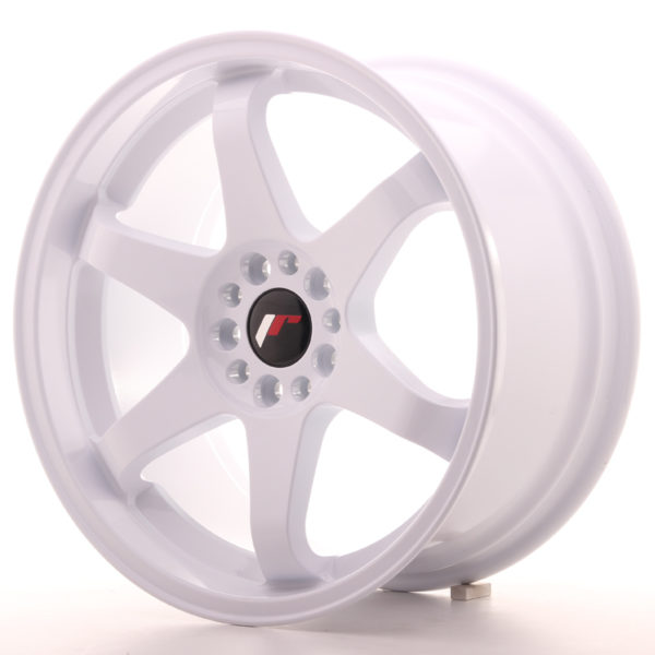 JR Wheels JR3 18x9 ET15 5x114/120 White