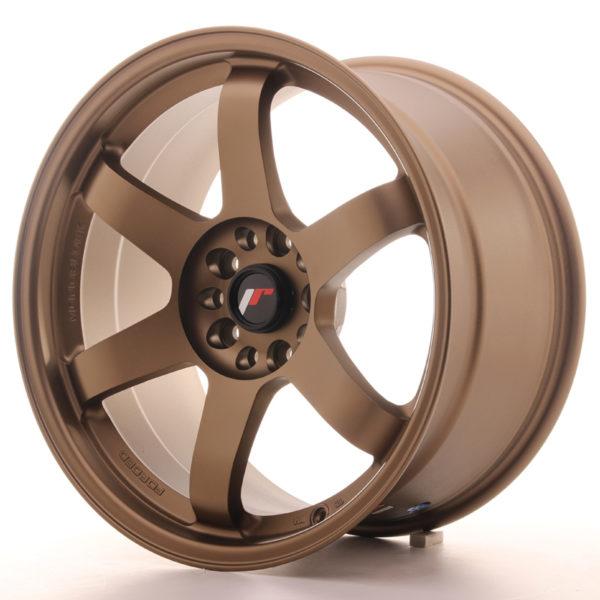JR Wheels JR3 18x9,5 ET38 5x100/114,3 Dark Anodized Bronze