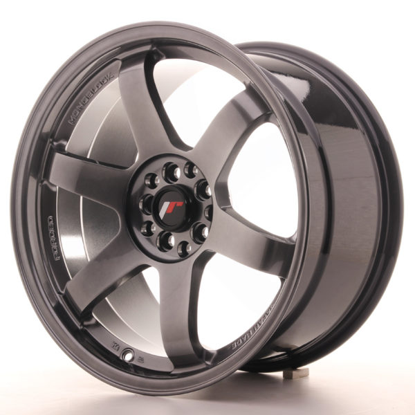 JR Wheels JR3 18x9,5 ET38 5x100/114,3  Hyper Black