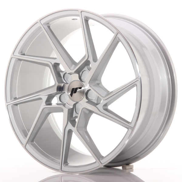 JR Wheels JR33 19x8,5 ET20-48 5H BLANK Silver Machined Face