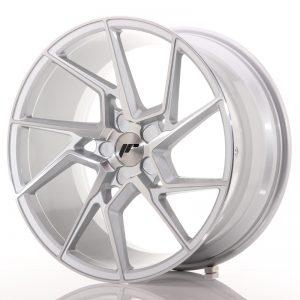 JR Wheels JR33 19x9,5 ET20-45 5H BLANK Silver Machined Face