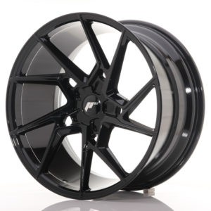 JR Wheels JR33 20x10 ET20-40 5H BLANK Gloss Black