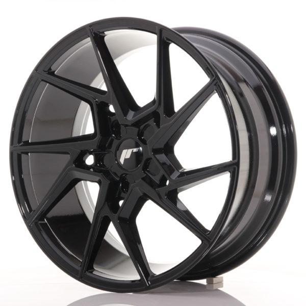 JR Wheels JR33 20x9 ET40-48 5H BLANK Gloss Black