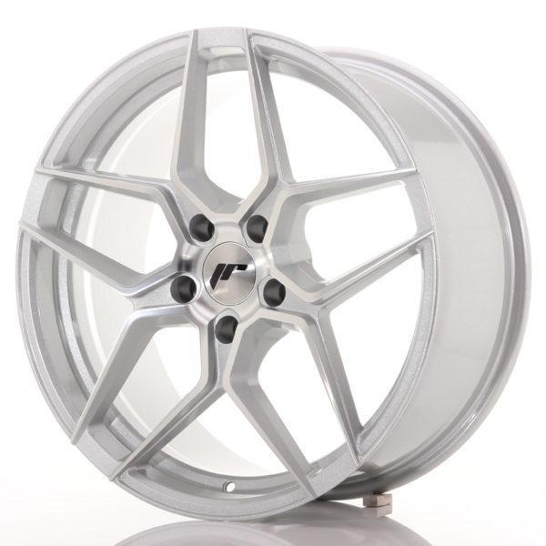 JR Wheels JR34 19x8,5 ET35 5x120 Silver Machined Face
