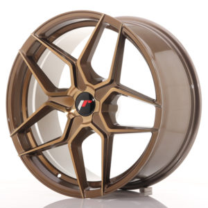 JR Wheels JR34 19x8,5 ET20-40 5H BLANK Platinum Bronze