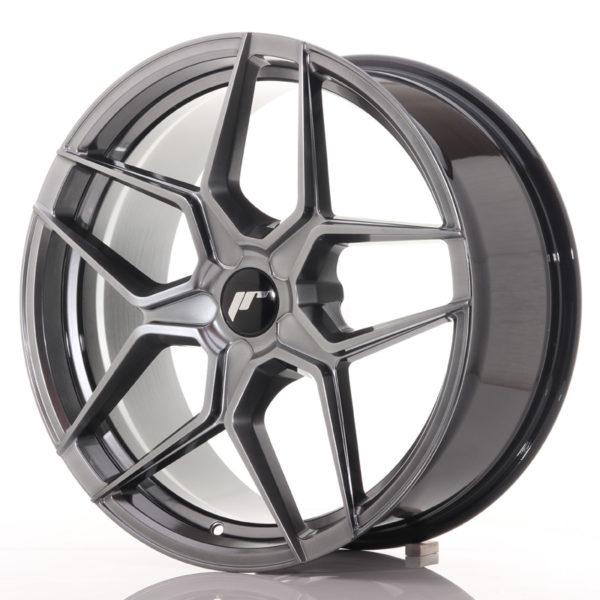 JR Wheels JR34 19x8,5 ET20-40 5H BLANK Hyper Black