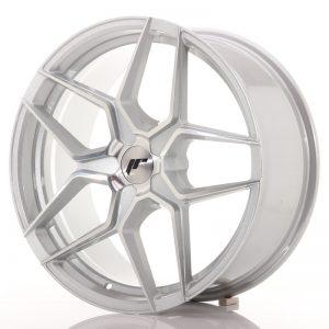 JR Wheels JR34 19x8,5 ET20-40 5H BLANK Silver Machined Face