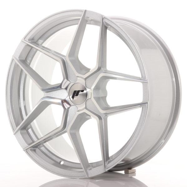 JR Wheels JR34 19x8,5 ET35-40 5H BLANK Silver Machined Face