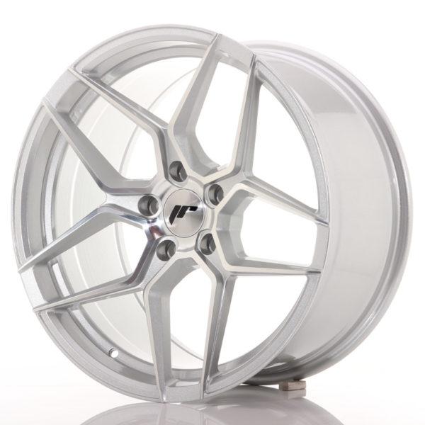JR Wheels JR34 19x9,5 ET35 5x120 Silver Machined Face