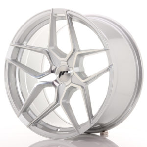 JR Wheels JR34 19x9,5 ET20-40 5H BLANK Silver Machined Face