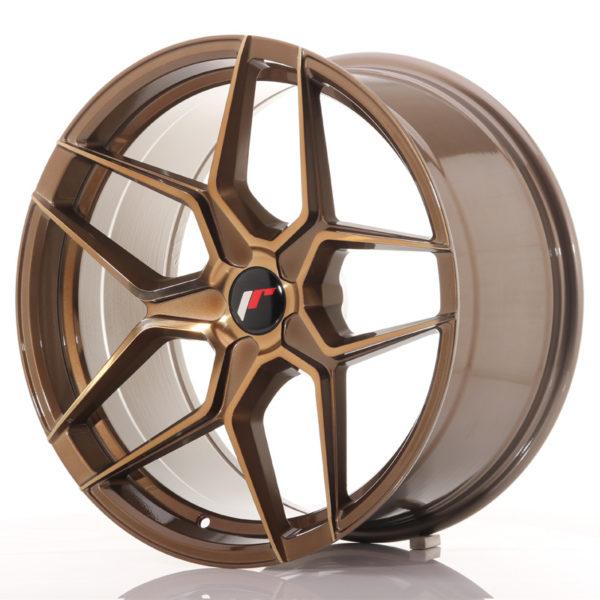 JR Wheels JR34 19x9,5 ET35-40 5H BLANK Platinum Bronze