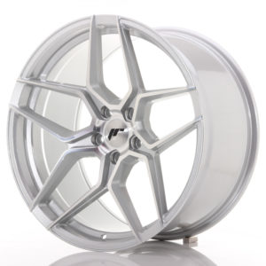 JR Wheels JR34 20x10,5 ET35 5x120 Silver Machined Face