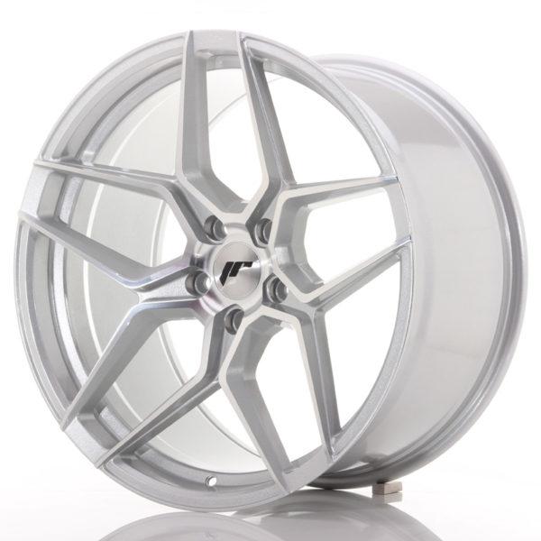 JR Wheels JR34 20x10,5 ET35 5x120 Silver Machined Face