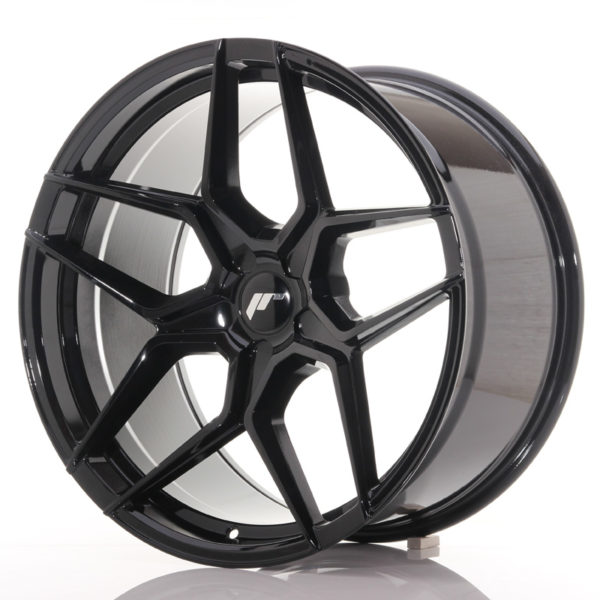 JR Wheels JR34 20x10,5 ET20-35 5H BLANK Gloss Black