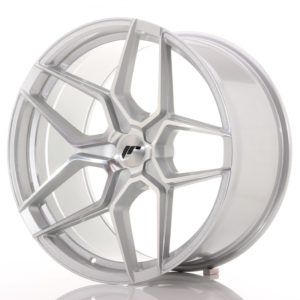 JR Wheels JR34 20x10,5 ET20-35 5H BLANK Silver Machined Face