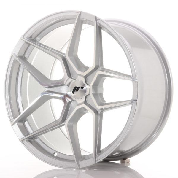 JR Wheels JR34 20x10,5 ET20-35 5H BLANK Silver Machined Face
