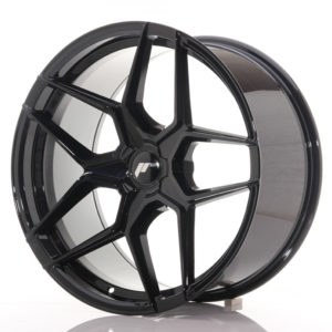 JR Wheels JR34 20x10 ET20-40 5H BLANK Gloss Black