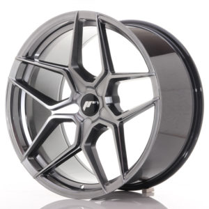 JR Wheels JR34 20x10 ET20-40 5H BLANK Hyper Black